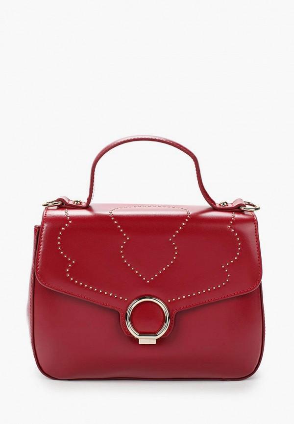 женская сумка galaday, бордовая