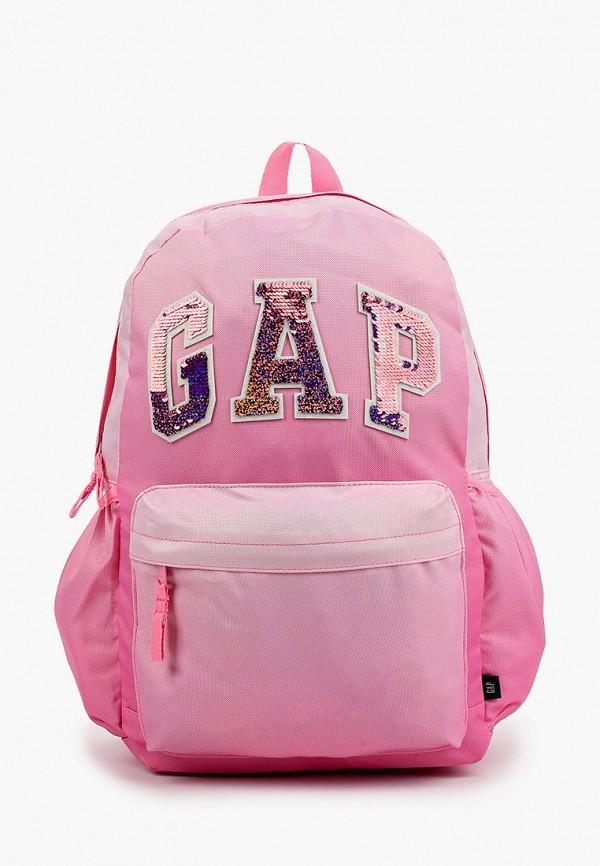 рюкзак gap для девочки, розовый