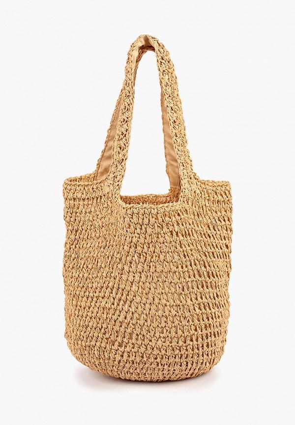 женская сумка gap, бежевая
