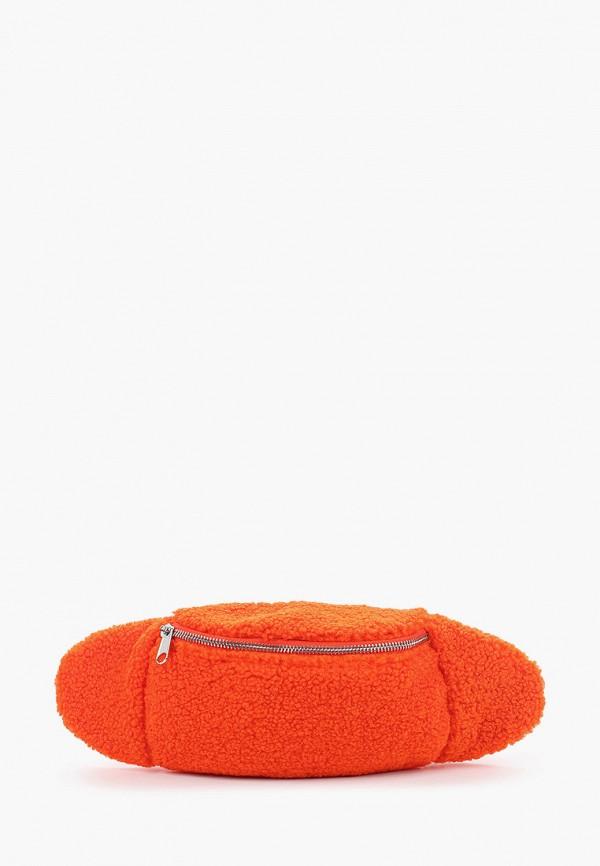 женская сумка gap, оранжевая