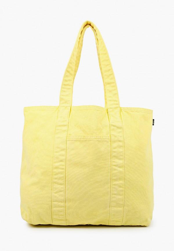 женская сумка gap, желтая