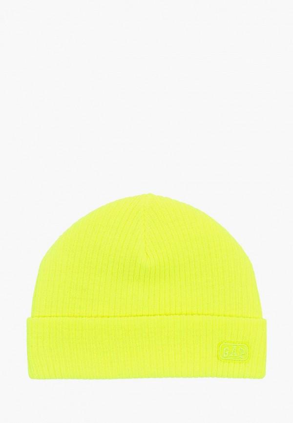 шапка gap для мальчика, желтая