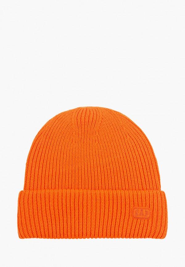 шапка gap для мальчика, оранжевая