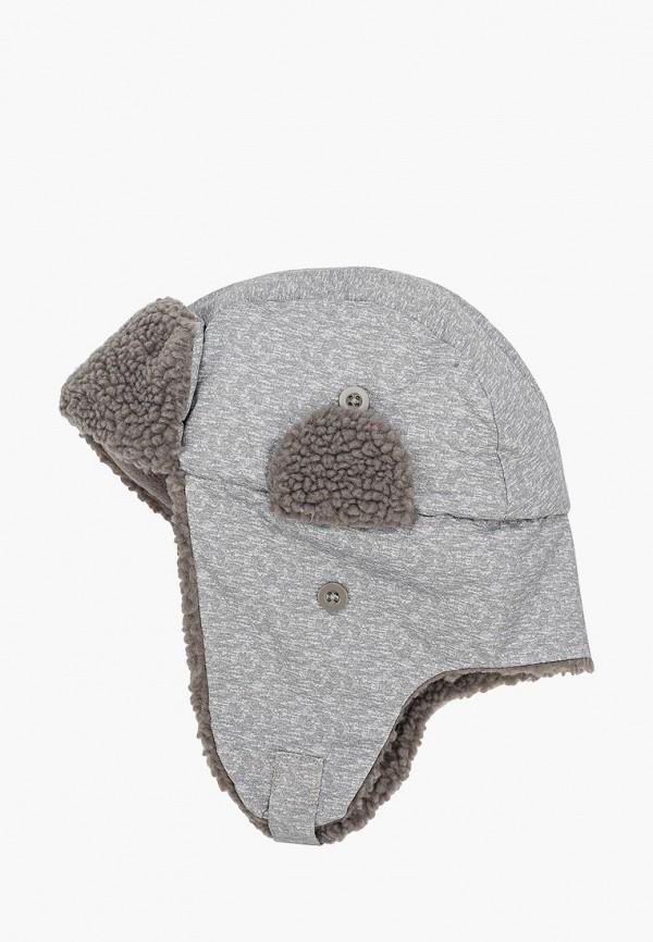 шапка gap для мальчика, серая