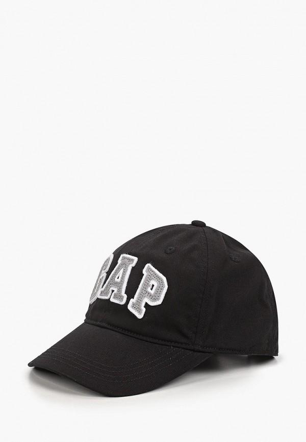 бейсболка gap для мальчика, черная