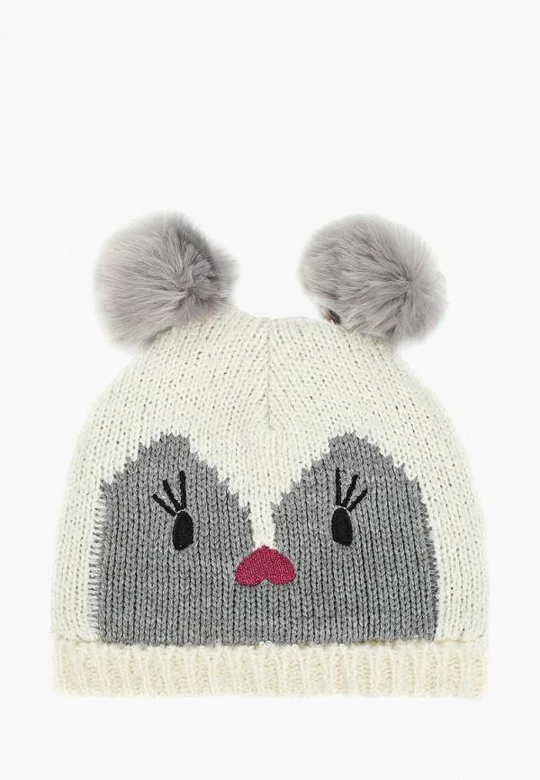 шапка gap для девочки, белая
