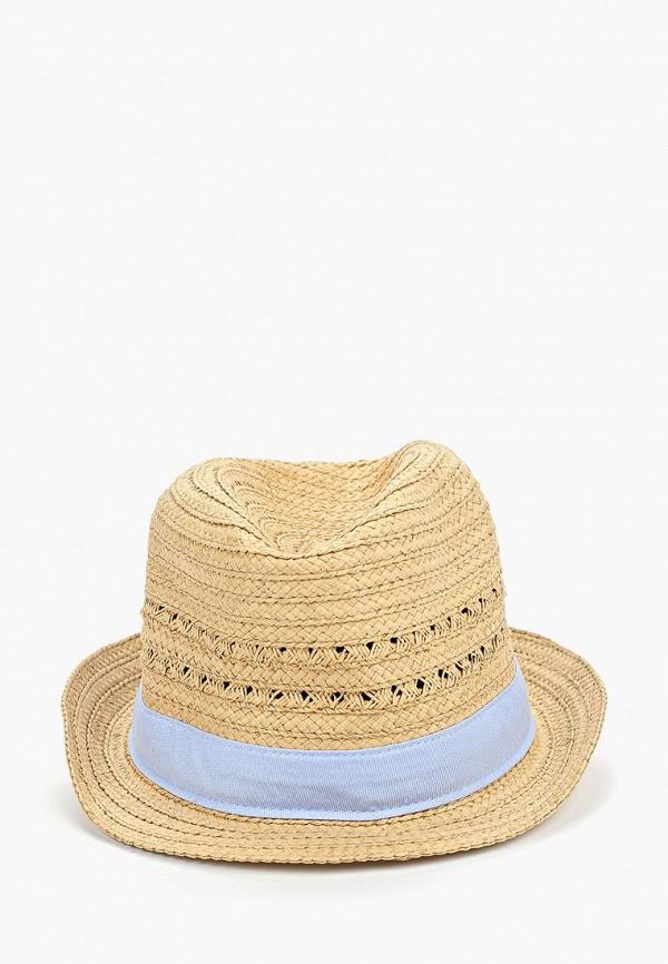 шляпа gap для девочки, бежевая