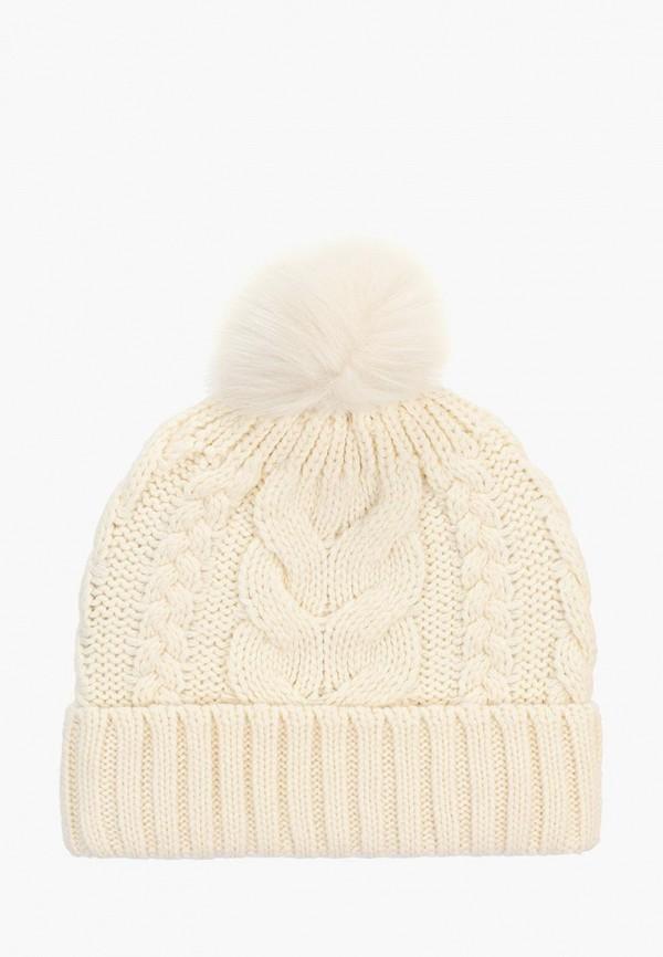 шапка gap для девочки, бежевая