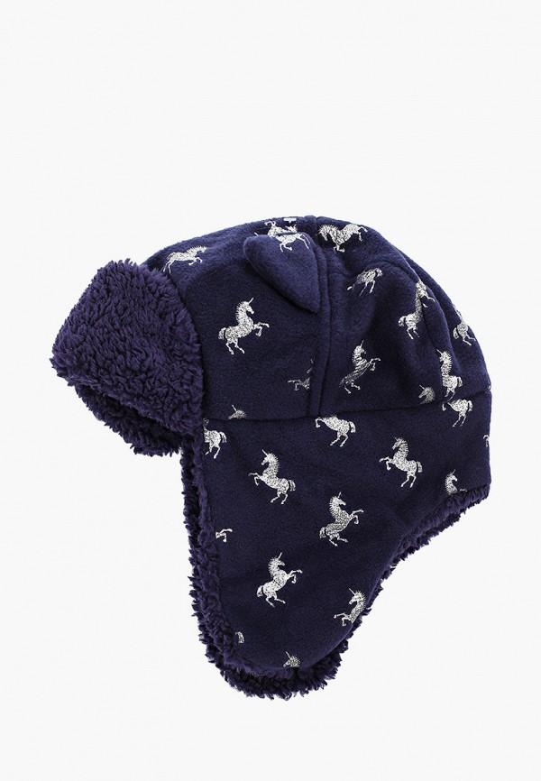 шапка gap для девочки, синяя