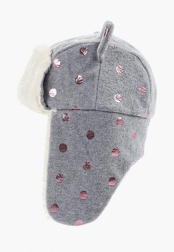 шапка gap для девочки, серая