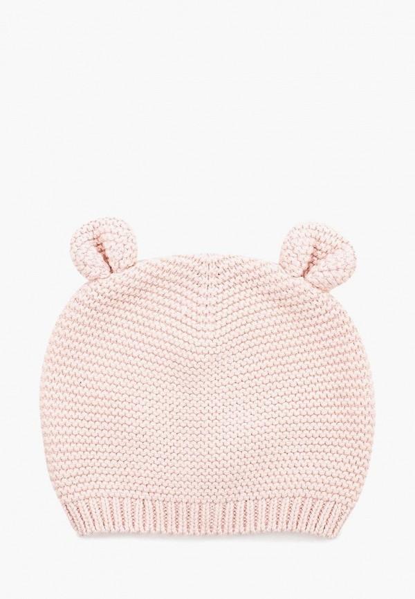 шапка gap для девочки, розовая