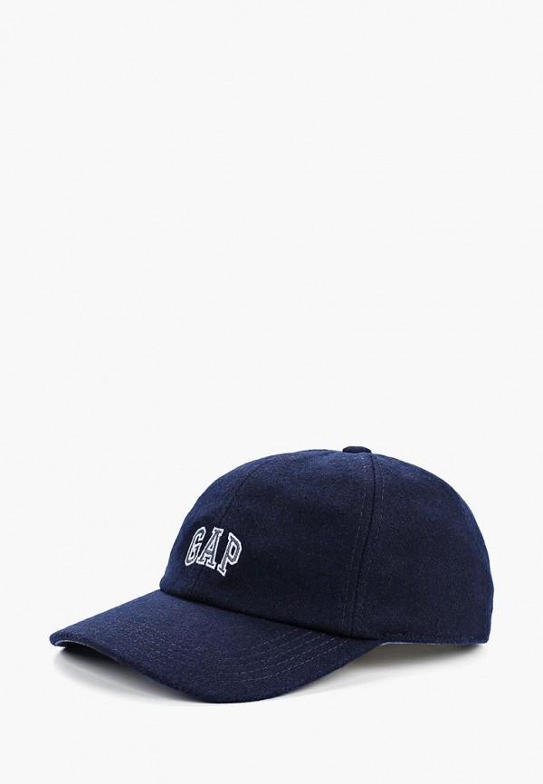 Купить Бейсболка Gap, ga020cmegsw6, синий, Весна-лето 2019