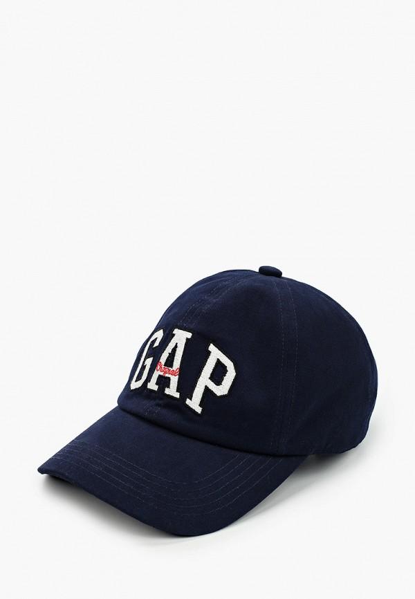 мужская бейсболка gap, синяя