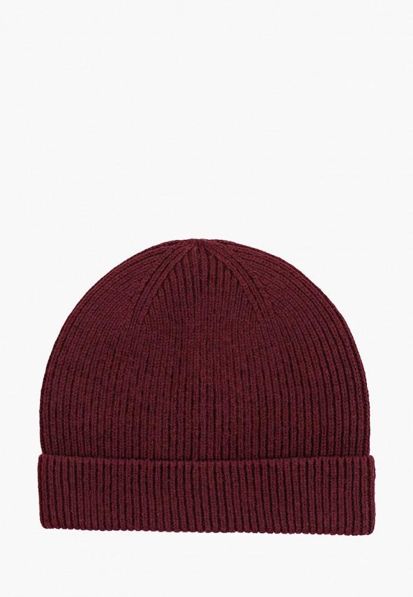 мужская шапка gap, бордовая