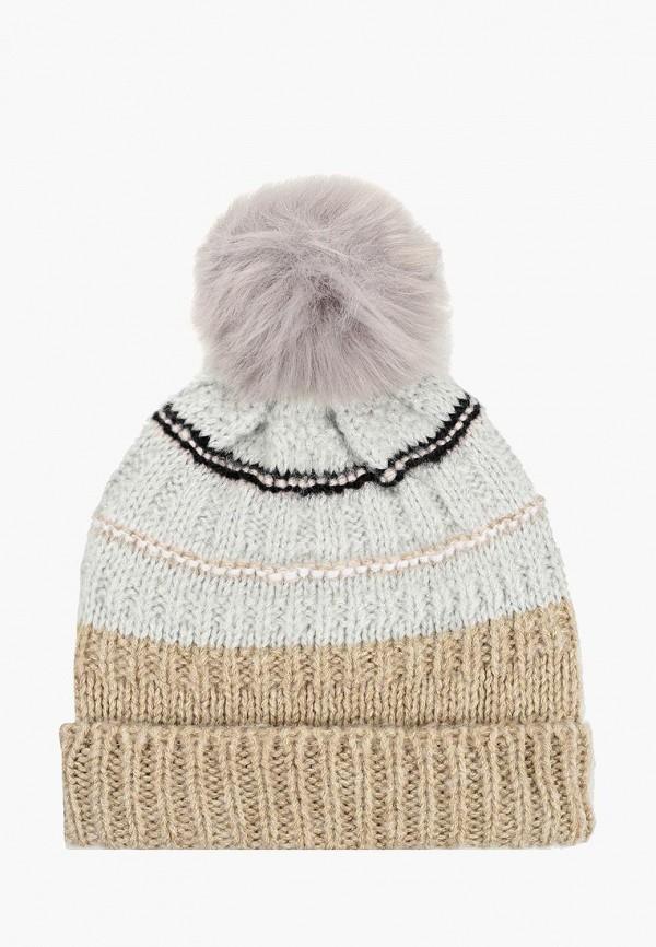 женская шапка gap, бежевая