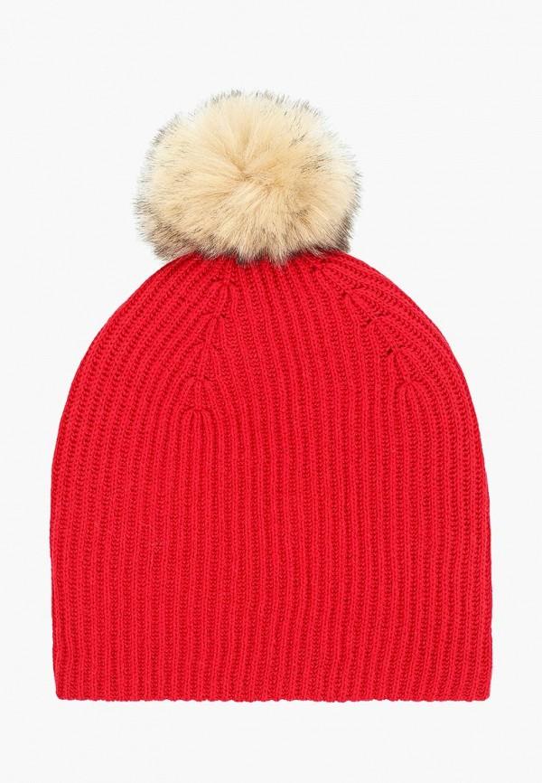 женская шапка gap, красная
