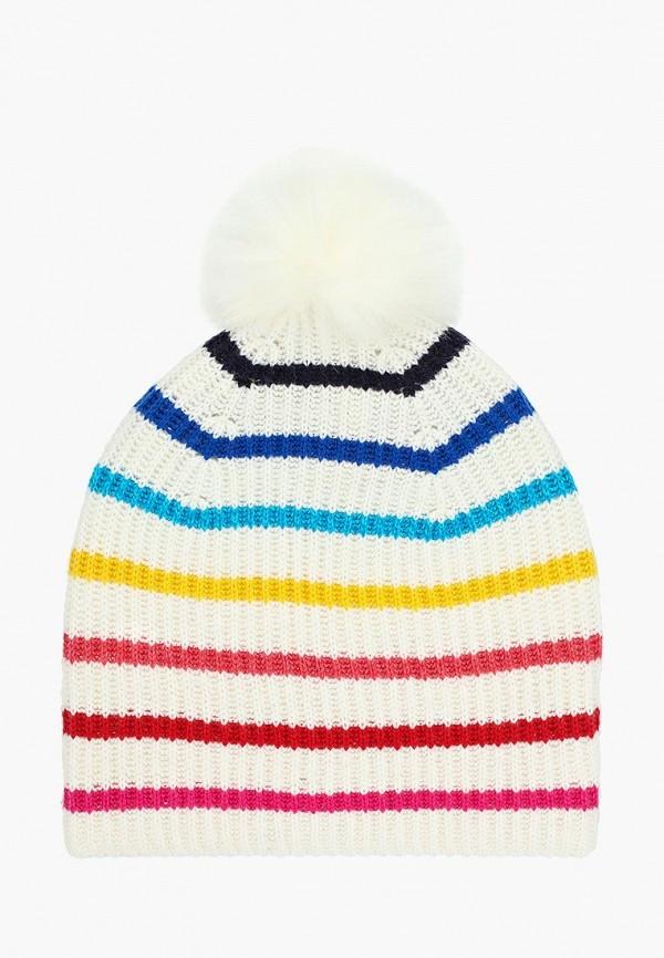 женская шапка gap, белая