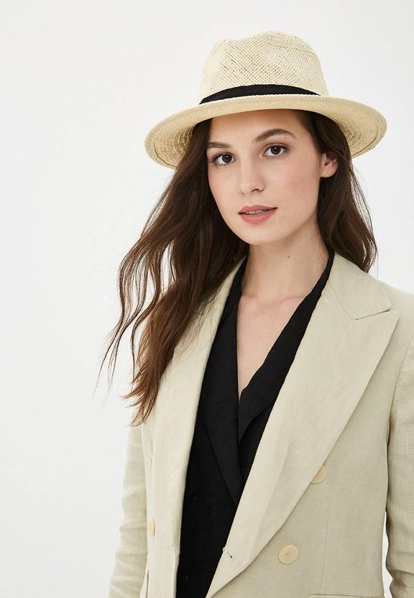 Фото 4 - женскую шляпу Gap бежевого цвета