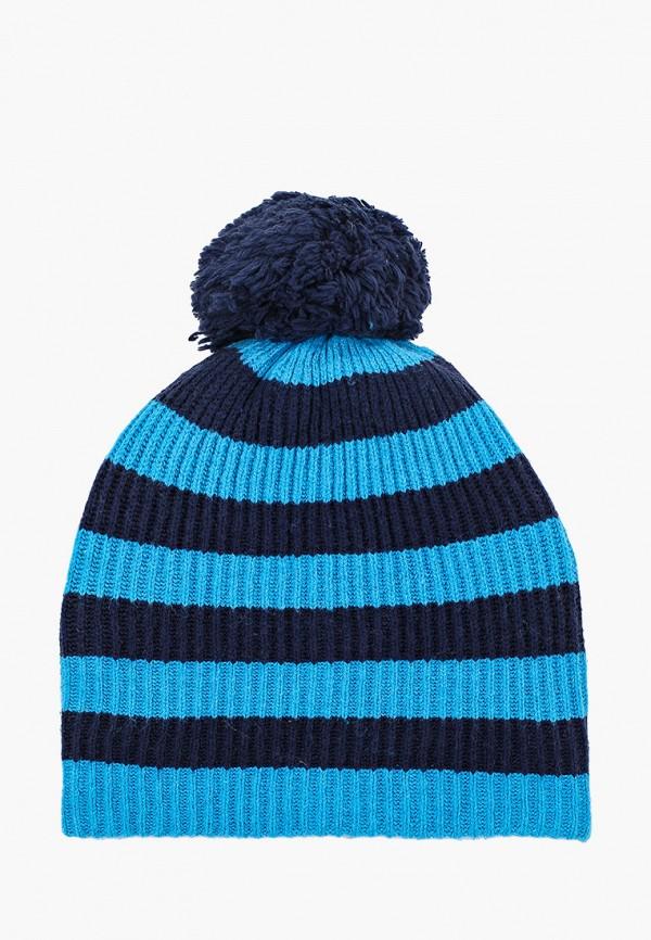 женская шапка gap, синяя