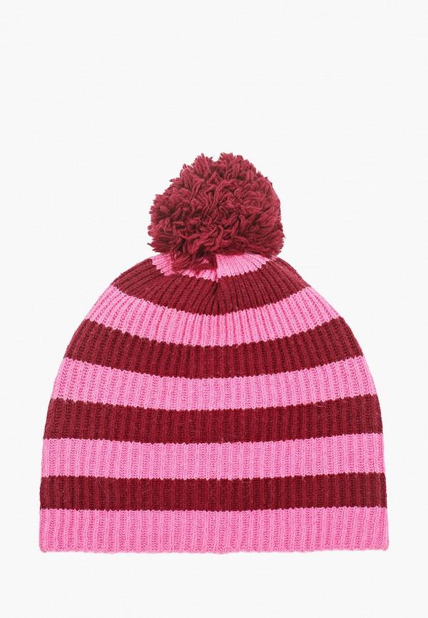 женская шапка gap, розовая