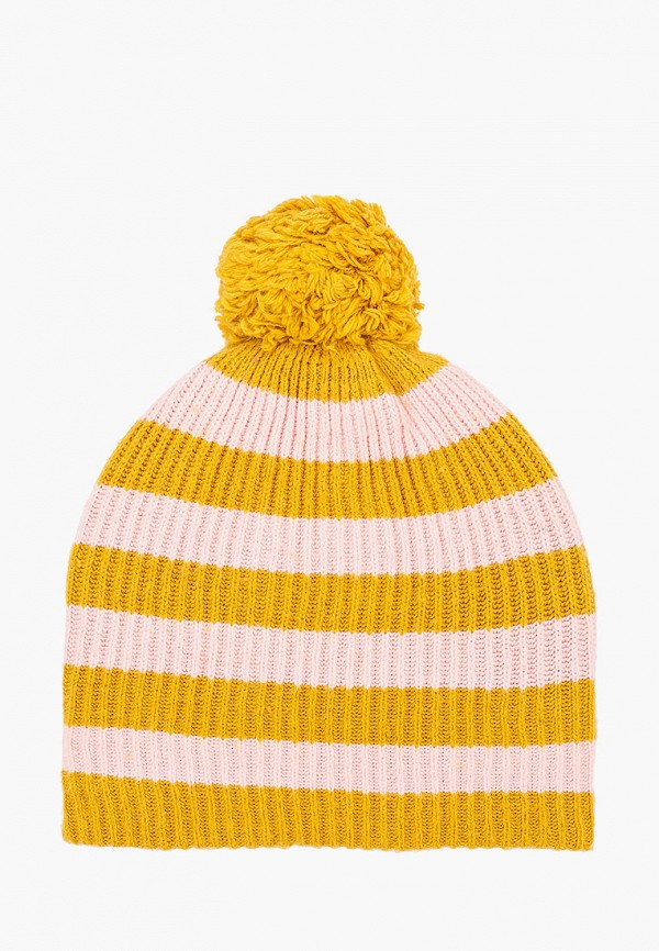 женская шапка gap, желтая