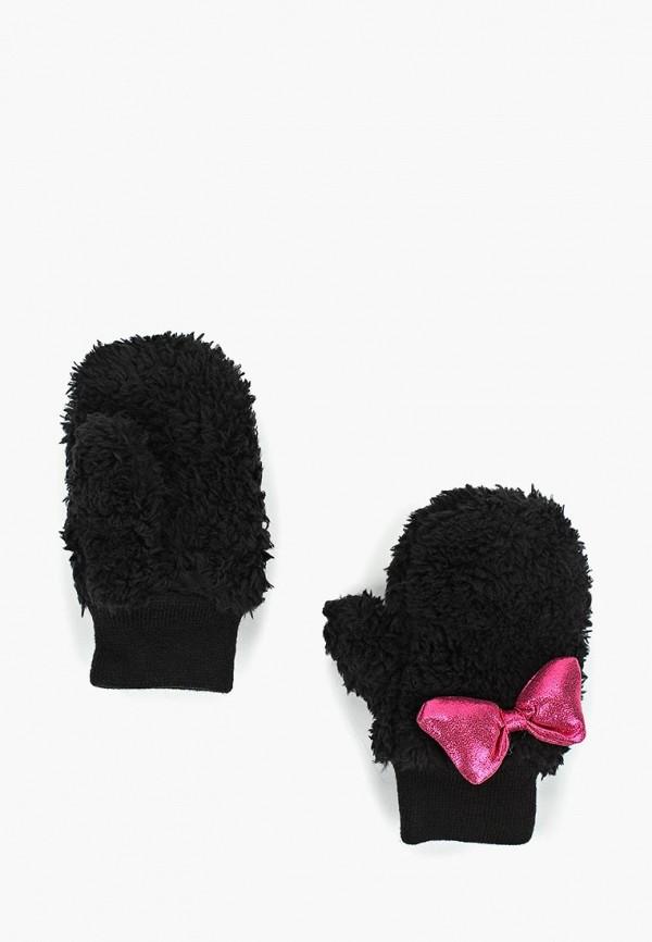 варежки gap для девочки, черные
