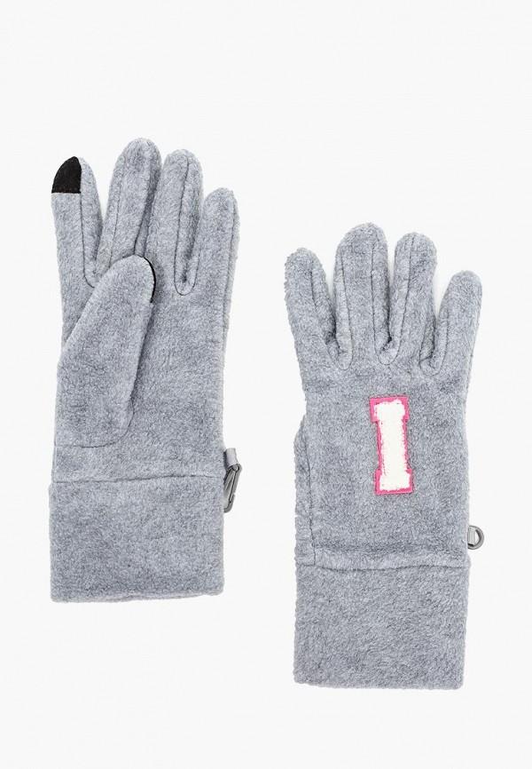 перчатки gap для девочки, серые