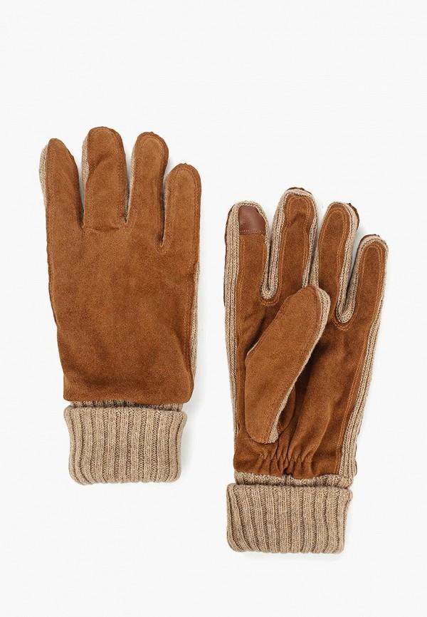 мужские перчатки gap, коричневые