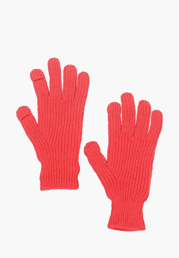 женские текстильные перчатки gap, красные