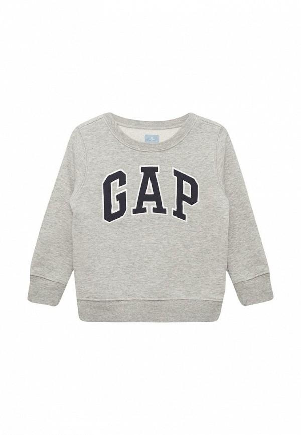 свитшот gap для мальчика, серый