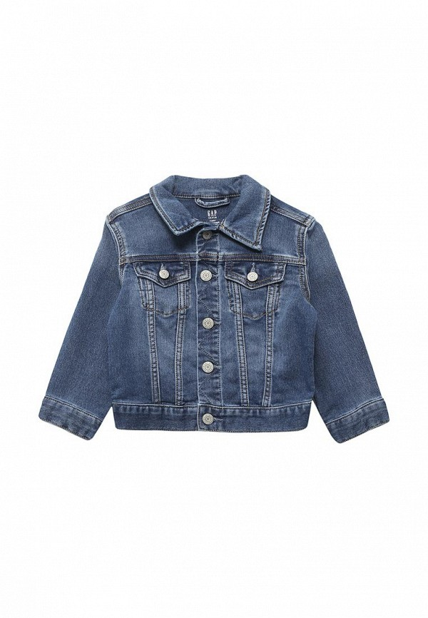 Купить Куртка джинсовая Gap, ga020ebahmq3, синий, Весна-лето 2018