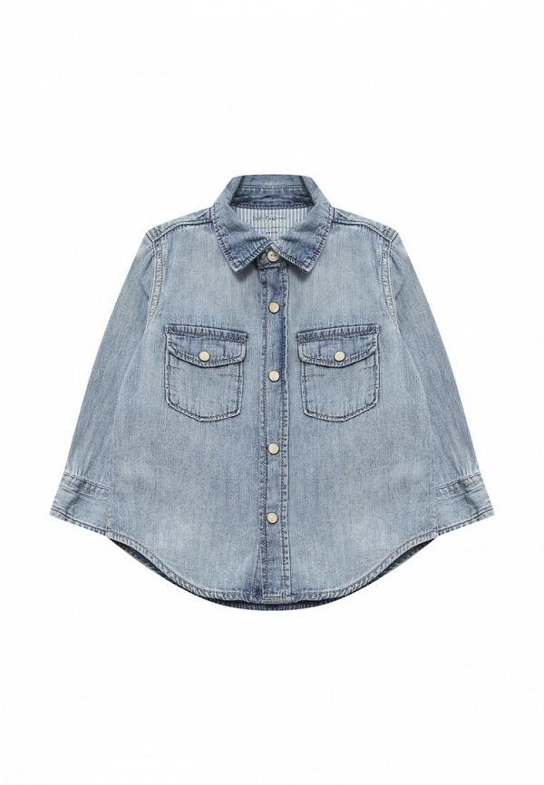 купить Рубашка джинсовая Gap Gap GA020EBAHMX0 по цене 1340 рублей