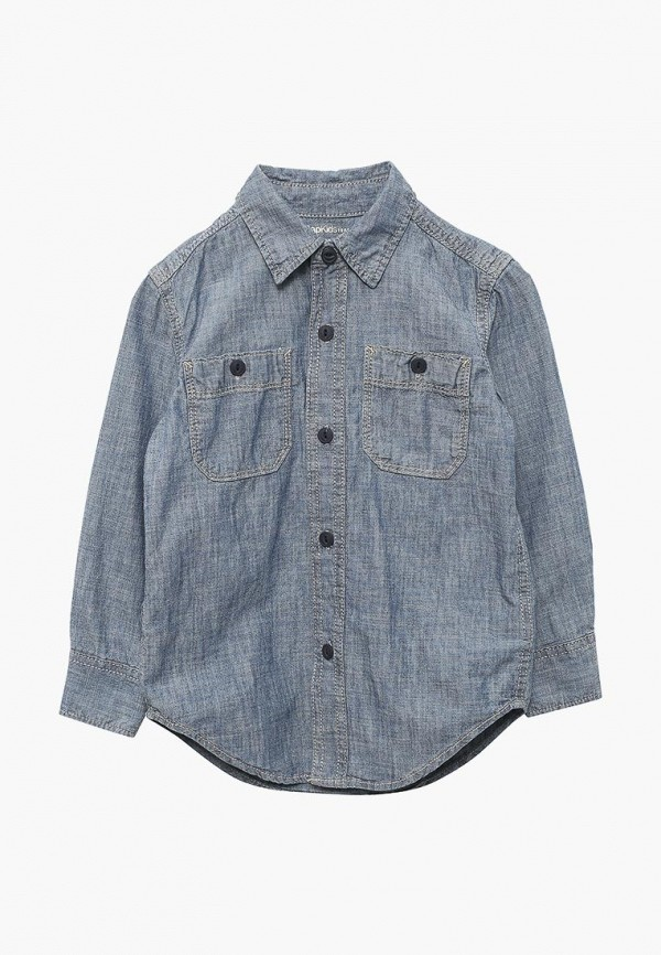 Рубашка джинсовая Gap Gap GA020EBAHPA5 рубашка gap gap ga020embcma9
