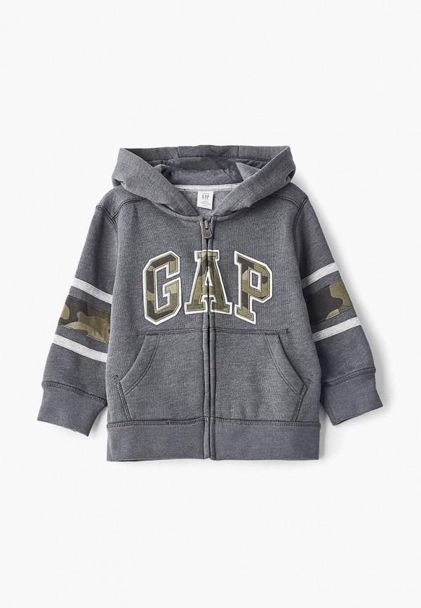 Толстовка Gap, ga020ebbtpw8, серый, Осень-зима 2018/2019  - купить со скидкой