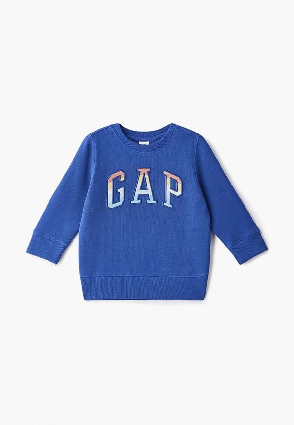 Купить Свитшот Gap, ga020ebcvdo9, синий, Осень-зима 2018/2019
