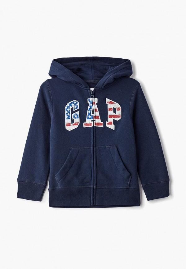 толстовка gap для мальчика, синяя