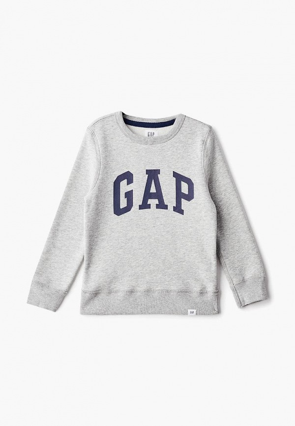 Купить Свитшот Gap, ga020ebcvdx6, серый, Осень-зима 2018/2019