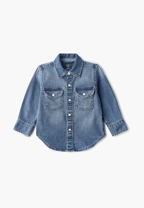 цена Рубашка джинсовая Gap Gap GA020EBEGKI9