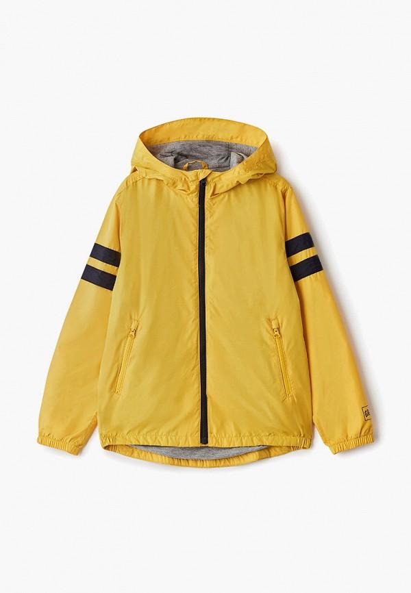 куртка gap для мальчика, желтая