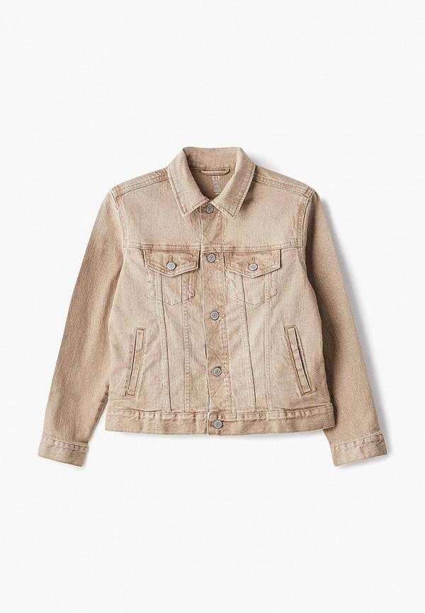 куртка gap для мальчика, бежевая