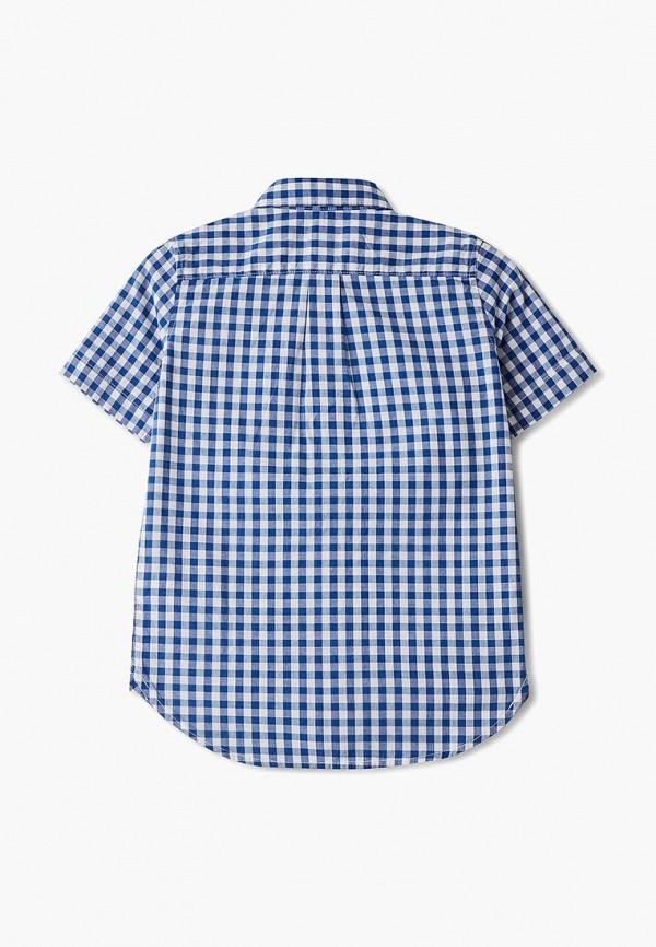 Фото 2 - Рубашку Gap синего цвета
