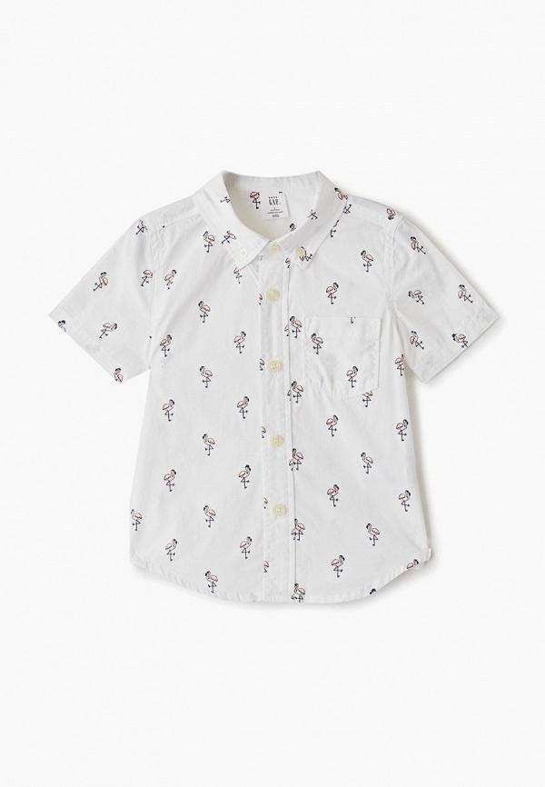 рубашка gap для мальчика, белая
