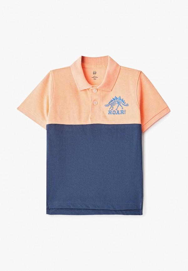 Фото - футболку или поло для мальчика Gap разноцветного цвета