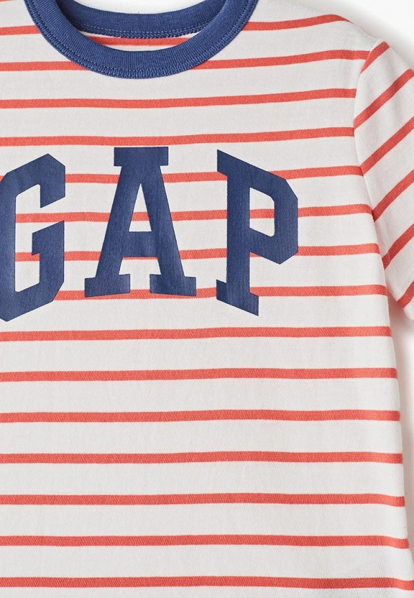 Фото 3 - Футболку Gap белого цвета