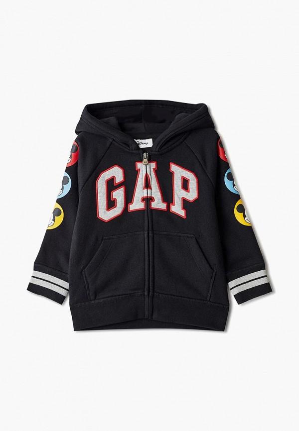толстовка gap для мальчика, черная