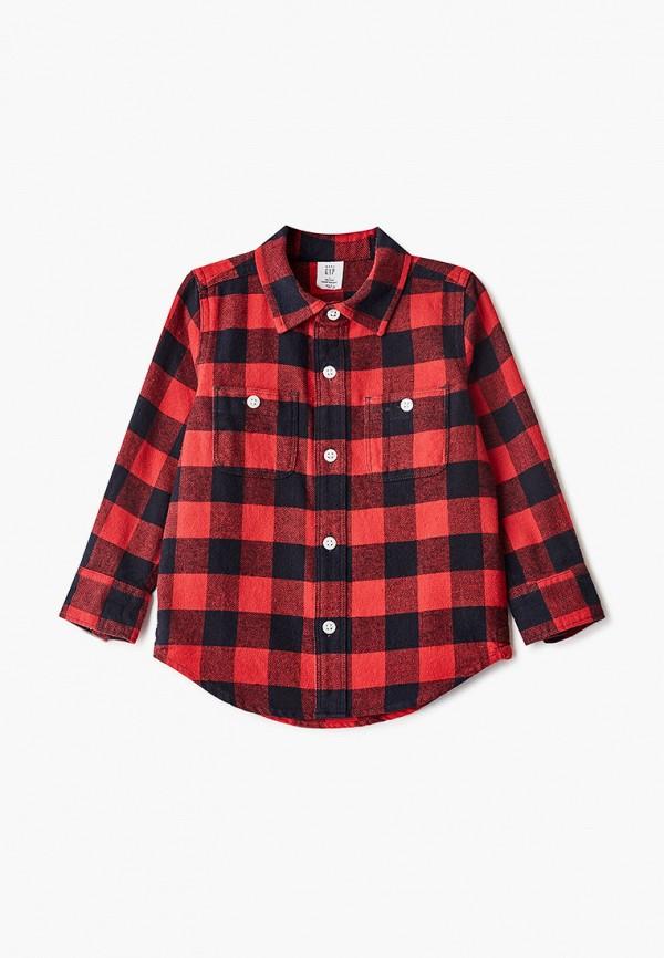 рубашка gap для мальчика, разноцветная