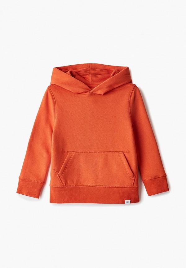 худи gap для мальчика, оранжевые