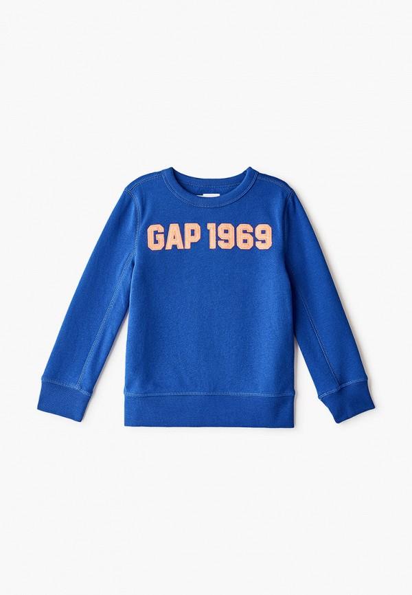 свитшот gap для мальчика, синий