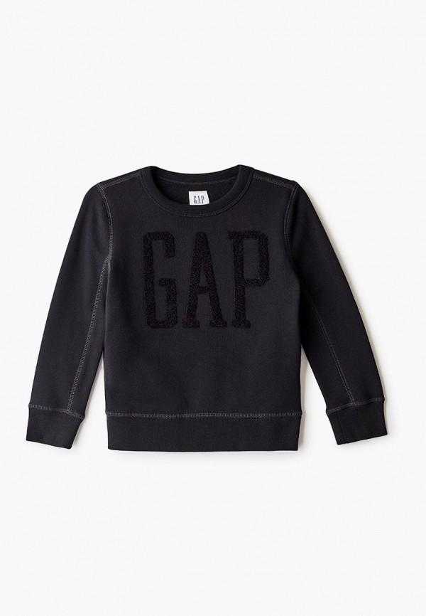 свитшот gap для мальчика, черный