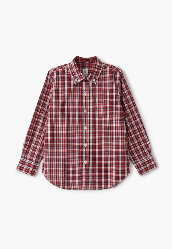 рубашка gap для мальчика, красная